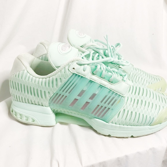 Adidas Mint Green Climacool Sneakers Size 11.5